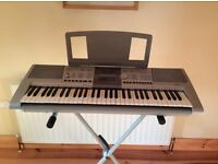 Yamaha Electric Organ with Stand & Carry Case