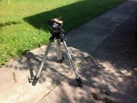 Man froth Camera Tripod