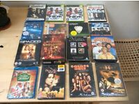 Job-lot of dvds! Boxsets!ames! ALL FACTORY-SEALED AND ONLY £12.00p!!!!!