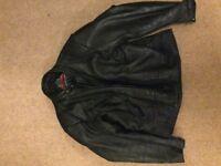 Scott leathers biker jacket, size 50