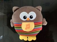 Owl fisherprice plays music and glows excellent condition