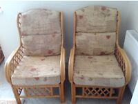 Conservatory set 2 seater sofa and 2 chairs