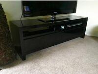 Black side cabinet / TV unit from House Of Fraser - COST £500 Designer Storage Table