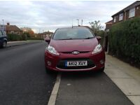 Ford Fiesta 12 plate cat d bargain at only £3650 Ono low miles full history 5 door