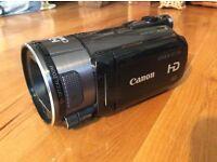 Canon Legria HF S100 camcorder HD plus 32GB SDHC card