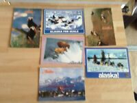 A Collection of Unused Postcards from the Late 1980's and early 1990's of Alaska