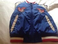Lovely silk biker jacket from next