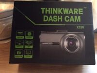 Brand New Boxed Dash Cam From Thinkware X350 inc GPS+Wi-Fi+ SD Card+ Hard Wired Loom