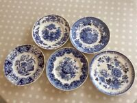 Compton & Woodhouse decorative plates with wall hangers