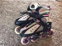 SFR Vortex Girls adjustable inline skates