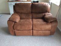 Harvey's reclining 2 seater sofa