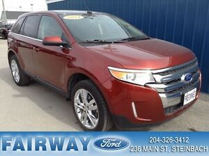 2014 Ford Edge Limited - AWD Lthr, Mnrf, Navi, 1 Local Owner