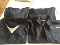 Men's medium jumpers and polo shirts