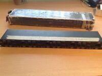 Stage Line Transformer coupled 4 channel passive DI box (1u)