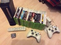 Xbox 360 with games & accessories