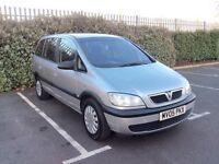 Vauxhall Zafira 1.6L 7 SEATERS 12 Months MOT