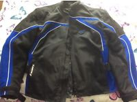 IXON CARBONIC MOTORBIKE JACKET SIZE L. EXCELLENT QUALITY & CONDITION USED A HANDFUL OF TIMES
