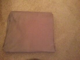 Double duvet, with 2 pillowcase, and fitted sheet