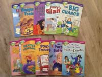 10 x Treetops reading books stage 10 and 11 Excellent Condition