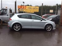 Seat Leon FR 170 2.0 tdi diesel 2 owners 68000 fsh long mot fully serviced nice car may px