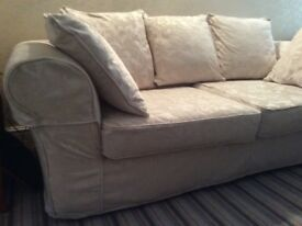 Large John Lewis sofa in Ivory