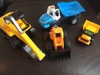 Children's trucks and wallets