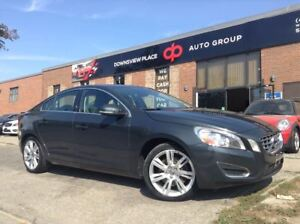 2012 Volvo S60 T5 | REVERSE CAMERA | SUNROOF | LEATHER |