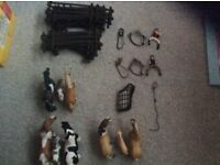 Excellent condition schleich horses and accessories (£65 only)