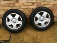 Vw golf mk 4 wheels and tyres