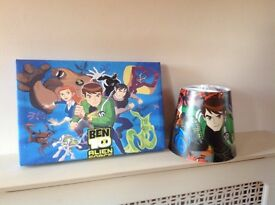 Ben 10 light shade and picture