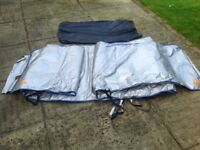 Hymer B Class thermal windscreen cover