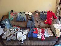 12-18 month boys bundle of clothes
