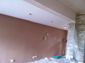 Specialist in Kitchen and Bathroom plastering painting and decoration