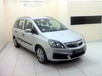 Vauxhall Zafira 1.6 i 16v-12 Month MOT-12 Month Warranty-7 Seater-£0 DEPOSIT LOW RATE FINANCE