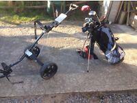 Mizuno MX17 Dynaflex true temper , Set of Irons , Putter, Drivers , Bag & Trolley
