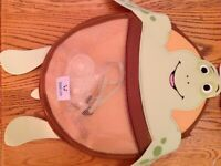 Brand new Nooni Care Tubby Turtle Bath Tub Organiser. With suction cup fasteners
