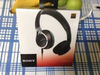 Head phones by Sony stereo,black model MDR-10RC Brand new still in cellophane . Unwanted gift