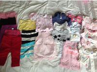 Girls clothing bundle 6-9 months