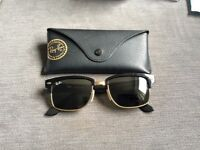 Ray-Ban clubmaster square framed sunglasses 52mm