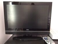 "26"" flatscreen tv. perfect working order and no scratches, with remote control"