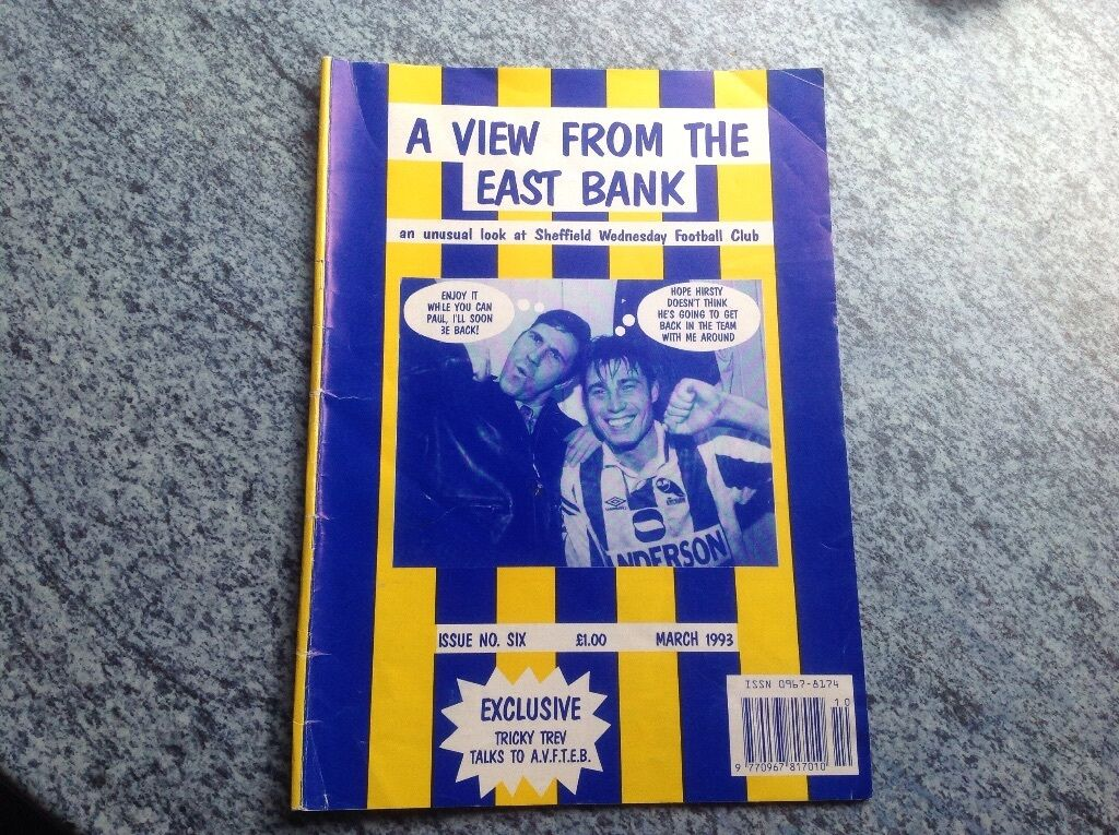 Sheffield Wednesday A View From The East Bank Fan Magazine 1993 500