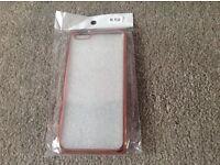 iPhone 6s Plus silicone case rose gold