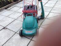 Bosch lawnmover