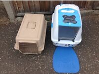 Large Cat travel box, new pet loo and new calming sprays