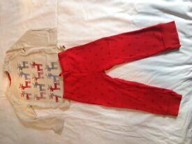 Boys Christmas pijamas 12 - 18 months