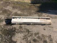 Bedford Rascal / Suzuki pick up tailgate panel as seen