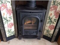 Multi fuel woodburner