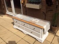 Beautiful Solid Pine Chest/ Bed End