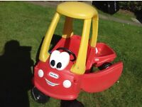 Little Tikes Cozy Coupe Toy Car and Trailer