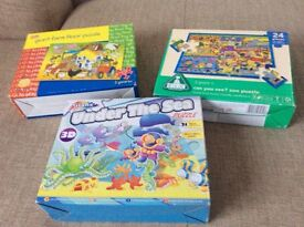 Bundle of 3 child's jigsaws
